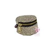 "3"" Cheetah Mini Button Bag"